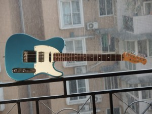 Bacchus Telecaster Clone with Humbucking Pickup