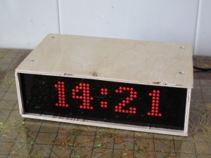 Fig 1. Finished Clock Prototype